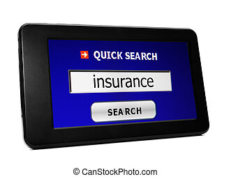 Web search for insurance