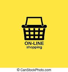 Web shopping background