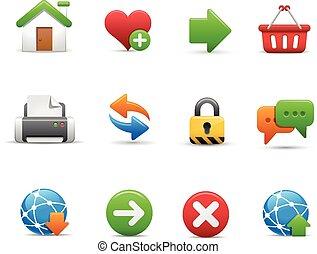 Web Site Icon Set