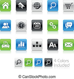 Web Site & Internet / Clean - The EPS file includes 4 color...