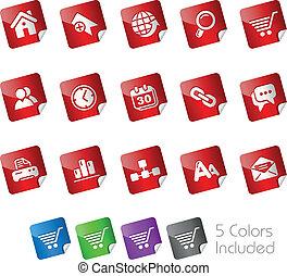 Web Site & Internet / Stickers