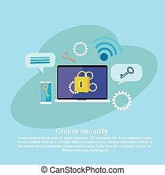 web, spazio, protezione dati, sagoma, linea, servizi, wich, sicurezza, copia, bandiera