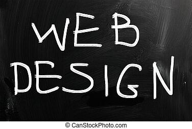 """""""web, tableau noir, craie, design"""", blanc, manuscrit"""