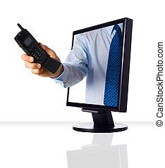 web telefoon