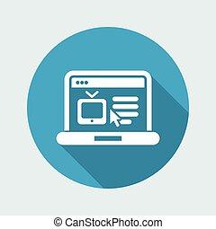 Web Tv site icon