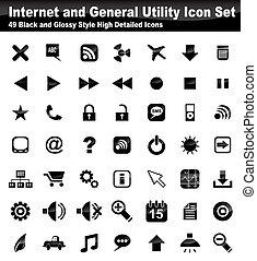 Web Utility Icon Set