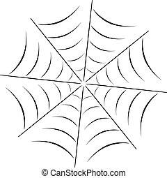 Web - vector spider web