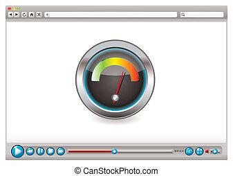 web, video, browser, geschwindigkeit