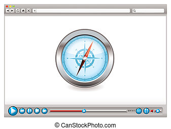 Web video browser navigation