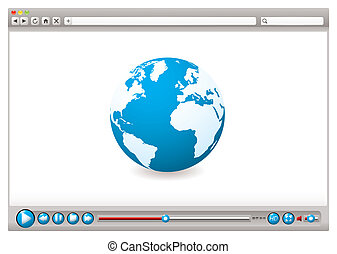 Web video browser world