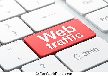 web, woord, render, toetsenbord, knoop, geselecteerde, ...