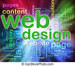 web, wordcloud, ontwerp