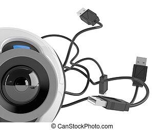 webcam, concept