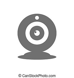 Webcam icon vector