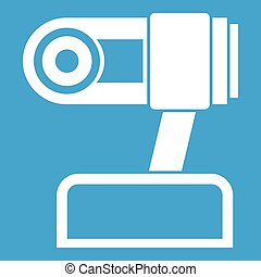 Webcam icon white