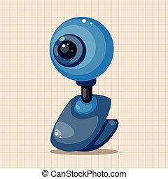 webcam theme elements