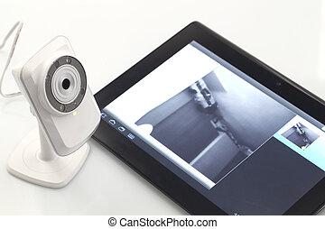 webcam, vernetzung