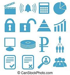 Webdesign icons set