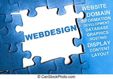 webdesign, problem