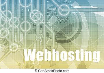 webhosting, 抽象的