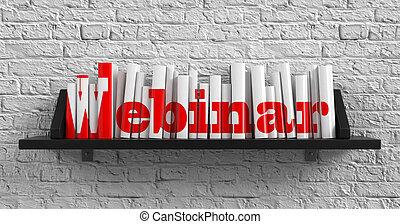 Webinar. Education Concept.