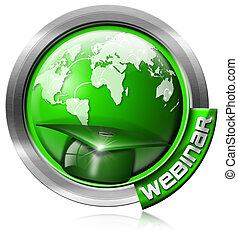 Webinar Icon - Web-based Seminar