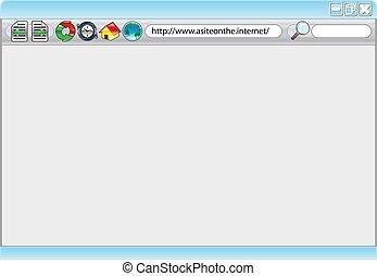 webinternet, browser