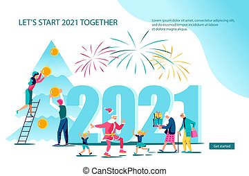Webpage template of 2021