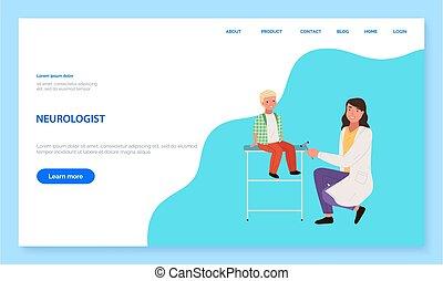 websajt, professionals., sjukvård, app, neurologen, konsultation, kommunikation