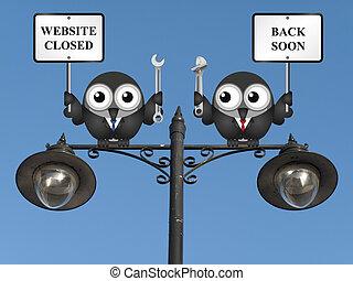 websajt, underhåll