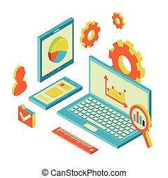 website analytics and SEO data