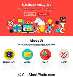 website, analytics, ontwerp, databank