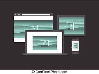 website and app presentation devices