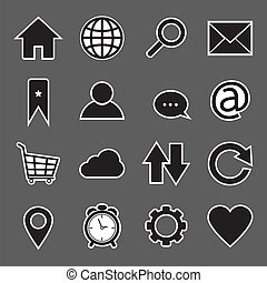 Website and Internet sticker Icon