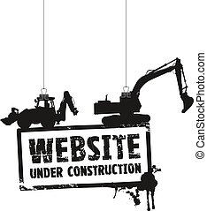 website, bau, zeichen