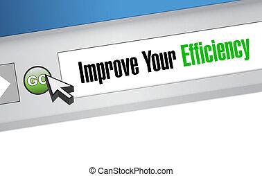 website, begriff, zeichen, leistungsfähigkeit, dein, verbessern