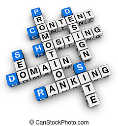 website  (blue-white cubes crossword series)