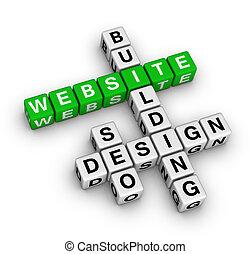 website, gebouw