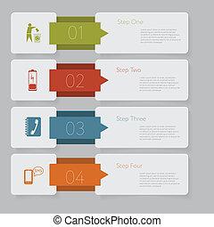 website, grafisch, opmaak, infographic., getal, ontwerp, mal, banieren, of