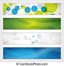 website, header, abstract