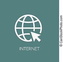 Website icon vector illustration. Web browser internet symbol