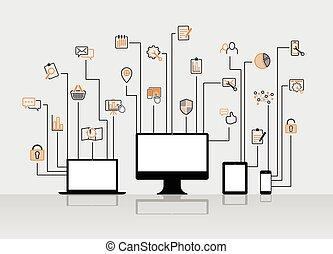 website, ikoner internet