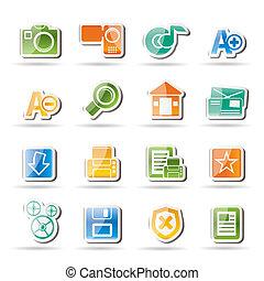 website, internet beelden
