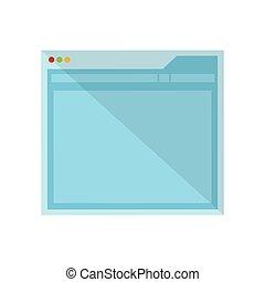 Website internet layout