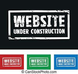 website, konstruktion