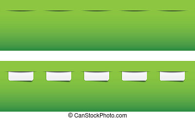 website menu tabs templates