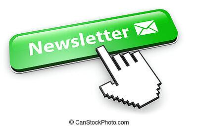 Website Newsletter Button