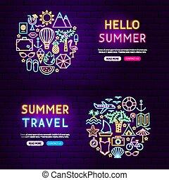 website, nyár, szalagcímek