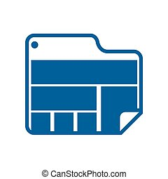 website online document internet icon. Vector graphic