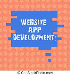 website, oprócz, development., pokaz, handlowy, bańka, fotografia, zagadka, stworzenie, servery, nuta, zastosowanie, formułować, kawał, mowa, programy, ads., showcasing, pisanie, prezentacja, app